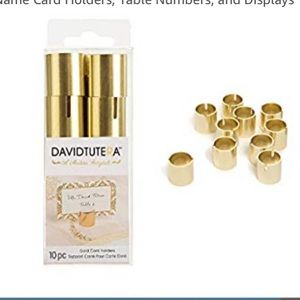 Wedding Gold Place Card Holders 70 pcs